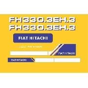 Kit Adesivos Fiat Hitachi Fh 330