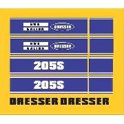 Kit Adesivos Dresser 205s