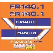 Kit Adesivos Fiatallis Fr 140.1