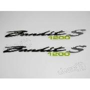Emblema Adesivo Resinado Suzuki Bandit 1200s