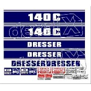 Kit Adesivos Dresser Ds140c 140c