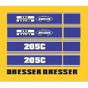 Kit Adesivos Dresser 205c