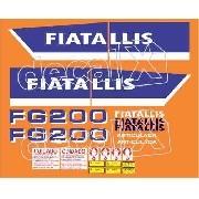 Kit Adesivos Fiatallis Fg200