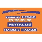 Kit Adesivos Fiatallis Fd130