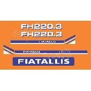 Kit Adesivos Fiatallis Fh 220.3