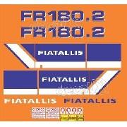 Kit Adesivos Fiatallis Fr 180.2