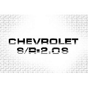 Adesivo Chevrolet Monza Sr 2.0s Mz20s