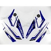 Kit Adesivos Yamaha Lander 250 2014 Azul 10492