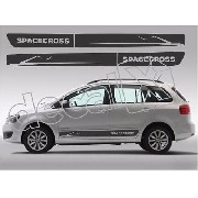 Adesivo Faixa Volkswagen Spacecross Sf006