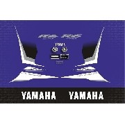 Kit Adesivo Yamaha Yzf R6 R6s 2007 Azul Yzfr601