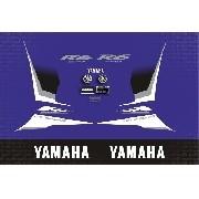 Kit Adesivo Yamaha Yzf R6 R6s 2008 Azul Yzfr601