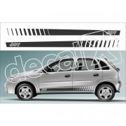 Adesivo Chevrolet Corsa Faixa Lateral 3m Cm2004