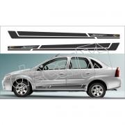 Adesivo Chevrolet Corsa Faixa Lateral 3m Cs0205