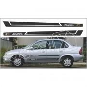 Adesivo Chevrolet Corsa Faixa Lateral 3m Cs0403