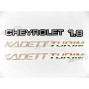 Adesivo Chevrolet Kadett Turim 1.8 Kdttu