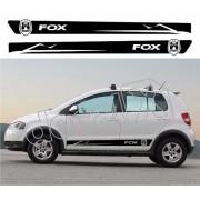 Adesivo Faixas Volkswagen Fox Fp002