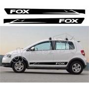 Adesivo Faixas Volkswagen Fox Fp003