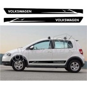 Adesivo Faixas Volkswagen Fox Fp004