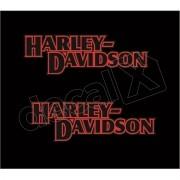 Adesivo Tanque Harley Davidson Custom adt003