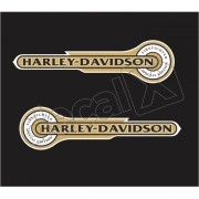 Adesivo Tanque Harley Davidson Custom adt006