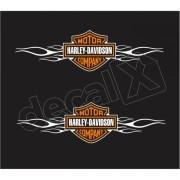 Adesivo Tanque Harley Davidson Custom adt010
