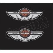 Adesivo Tanque Harley Davidson Custom adt012