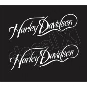 Adesivo Tanque Harley Davidson Custom adt013