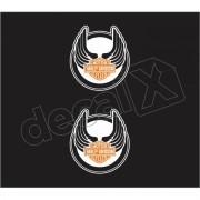 Adesivo Tanque Harley Davidson Custom adt017