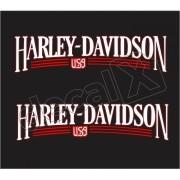 Adesivo Tanque Harley Davidson Custom adt019