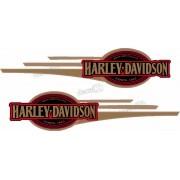 Adesivo Tanque Harley Davidson Custom adt30