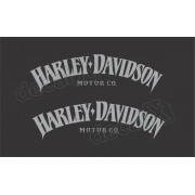 Adesivo Tanque Harley Davidson Iron 883 Hdi002
