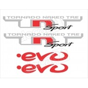 Adesivos Benelli Tnt Sport Decalx
