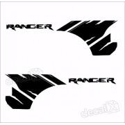 Adesivos Faixa Caçamba Ford Ranger Ran73