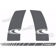 Kit Adesivo Faixa Lateral E Traseiro Mitsubishi Asx Asx004