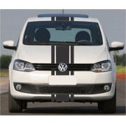 Kit Adesivo Faixas Volkswagen Fox Capo Teto E Mala Adc002