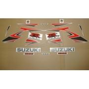Kit Adesivo Suzuki Gsxr 1000 2007 Prata E Vermelha