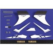 Kit Adesivo Yamaha R1 2008 Azul r108az