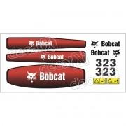 Kit Adesivos Bobcat 323 Decalx