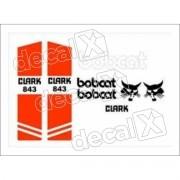 Kit Adesivos Bobcat 843 Decalx