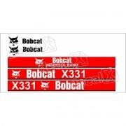 Kit Adesivos Bobcat X331 Decalx