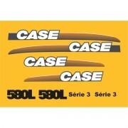 Kit Adesivos Case 580 L Serie 3 - Decalx