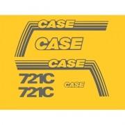 Kit Adesivos Case 721c - Decalx