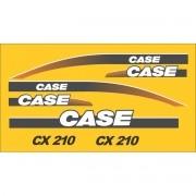 Kit Adesivos Case Cx210 - Decalx