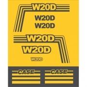 Kit Adesivos Case W20d - Decalx
