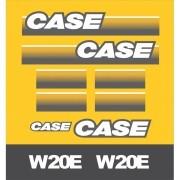 Kit Adesivos Case W20e Nova - Decalx