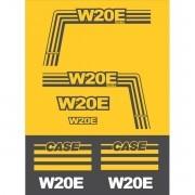 Kit Adesivos Case W20e Turbo - Decalx