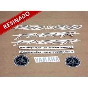 Kit Adesivos Fazer 250 2009 Preta Resinado