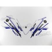 Kit Adesivos Lander 250 2008 Azul