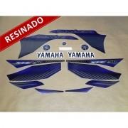 Kit Adesivos Lander 250 2010 Preta Resinado