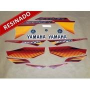 Kit Adesivos Lander 250 2010 Vermelha Resinado